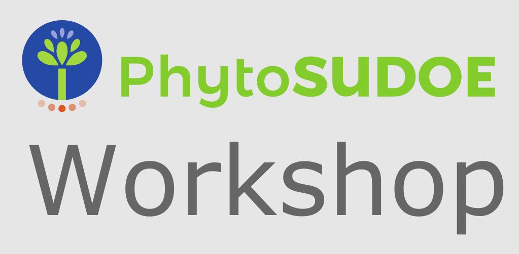 phytoSUDOE workshop